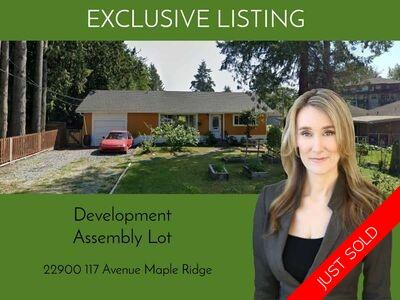 Maple Ridge Potential Development for sale:  2 bedroom 0.14 sq.ft.